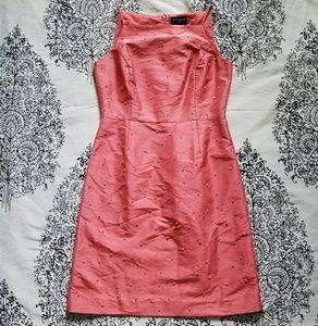 | vintage Ann Taylor | pink embellished dress